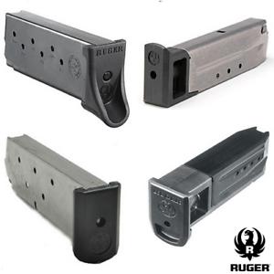 Ruger OEM Semi-Auto Handgun Mags Various Pistol Magazines 5 6 7 8 9 10 Rounds RD