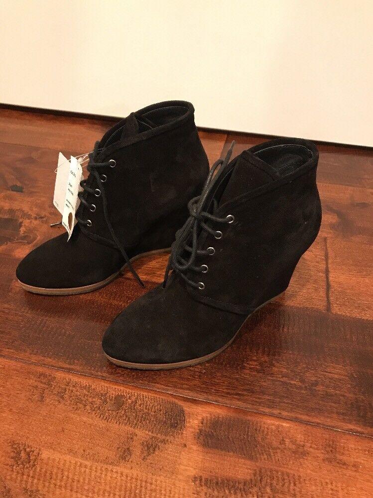 a buon mercato Giuseppe Giuseppe Giuseppe Zanotti nero Suede Wedge scarpe, Dimensione 6.5 (US) 36.5 (IT), New   995  il più economico
