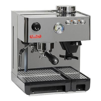 Siebträger Espressomaschine mit Kaffeemühle mit Kegelmahlwerk Lelit PL42EM