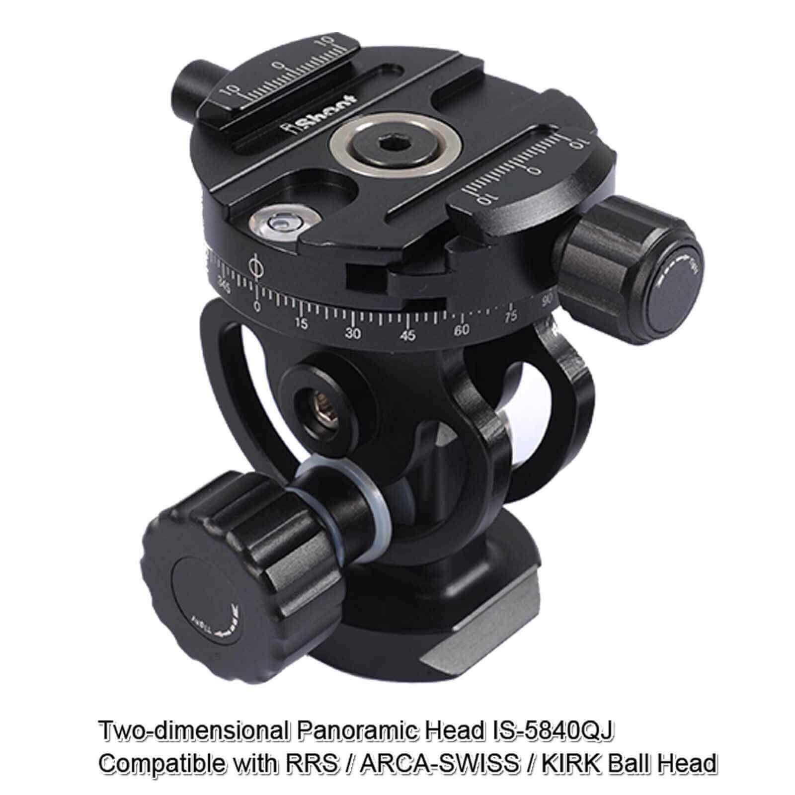 360 ° Pantoscopic Precision Panoramic Tripod Head Mount For 5D2 5D3 GH4 BMPCC