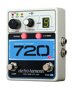 Electro-Harmonix-720-Stereo-Looper-pedal-free-shipping