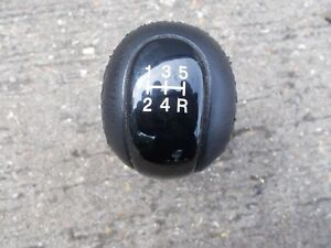 MAZDA-6-MODELS-2002-2008-5-SPEED-BLACK-LEAHTER-GEAR-KNOB-WITH-BLACK-INSERT