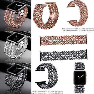 For-Apple-Watch-Jewelry-Rhinestone-Diamond-Bracelet-Wristwatch-Watch-Strap-Bands