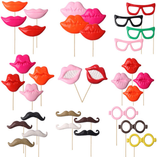 Photo Booth Props DIY Photobooth Prop On A Stick Wedding Event Party Decoration