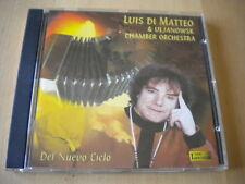 Luis di Matteo & Uljanowsk Chamber OrchestraDel nuevo ciclo1991CDclassical