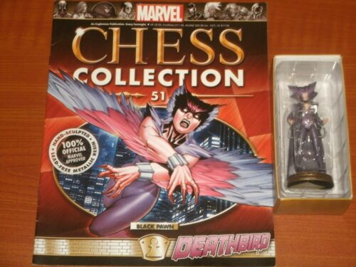 Spider-Verse Marvel Collectible Chess Pieces w//Magazines X-Men By Eaglemoss