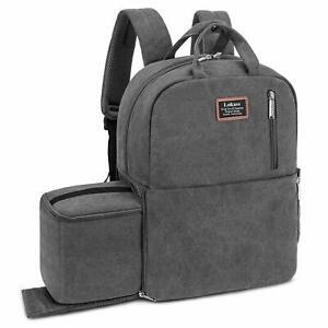 Details About Dslr Slr Camera Bag Backpack Waterproof Tablet Laptop For Women Men