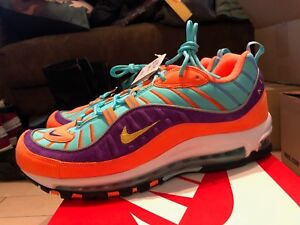 06aa725c14099a ... inexpensive image is loading nike air max 98 qs cone tour yellow f8254  80fa5