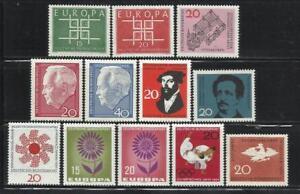 ALEMANIA-R-F-A-Ano-1963-4-Tema-TEMAS-VARIOS-TIPOS-DIVERSOS