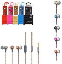 Genuine EX210 In ear Metal Handsfree Headphone For HTC One M9,A9,M8,Mini,Mini 2