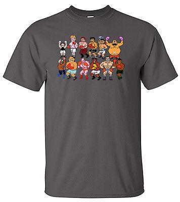 Mike Tysons Punchout Tyson 8 Bit Boxing T Shirt