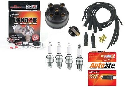 Complete Ignition Tune Up Kit Set /& Coil IH Farmall A AV B BN C H HV M MV