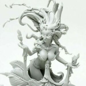 Flower-Witch-Model-Resin-Figure-for-Table-Top-Game-Kingdom-Death-Recast-50-mm