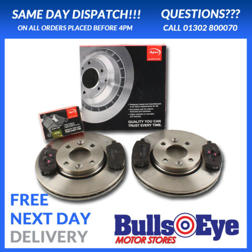 NEW PREMIUM OE QUALITY RENAULT CLIO MK3 NEW FRONT VENTED BRAKE DISCS AND PADS