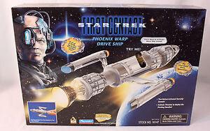 Star Trek First Contact Phoenix Warp Drive Ship New