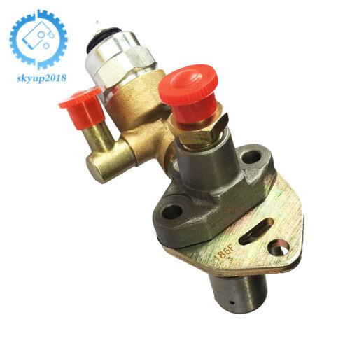 Diesel Fuel Injector Pump 186 186F W//solenoid Fit for Yanmar L100 10HP Generator