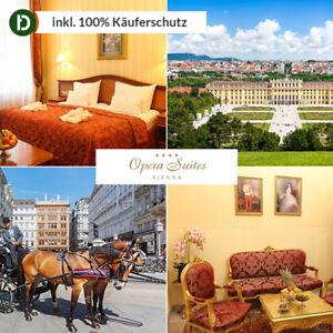 Wien 3 Tage Städtereise Opera Suites Vienna Hotel Gutschein 4 Sterne