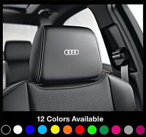 6x-AUDI-Logo-Headrest-Car-Seat-Decals-Badge-Sticker-Quattro-S-Line-A1-A3-A4-A6