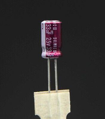 ELNA RFS Audio SILMIC II Aluminium Electrolytic Capacitor 33uF 1000uF 6.3V