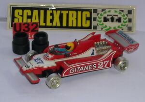 Scalextric Exin C-4060 Ligier Js-11 F1 # 27 Rouge D.pironi Excellent Etat