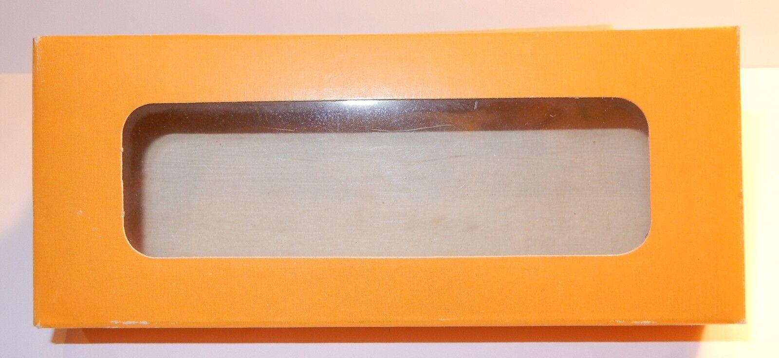 RARE BOX EMPTY for 6 modèles MICRO BREKINA DKW F7 reichskl. L HO 1 87 REF 1201
