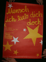 Mankind I Love You Anyway A Play For The People Searching For Life 1980s German