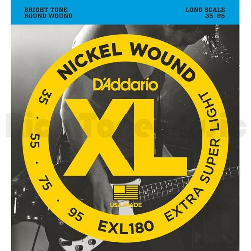 D/'Addario EXL180 Bass strings 35-95