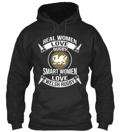 Smart Women Love Welsh Rugby Real Welish Standard College Hoodie