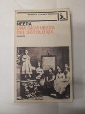 NEERA - UNA GIOVINEZZA DEL SECOLO XIX - ED. FELTRINELLI - 1980