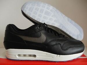 Details about NIKE AIR MAX 1 PREMIUM ID BLACK GREY WHITE SZ 13 [918620 992]