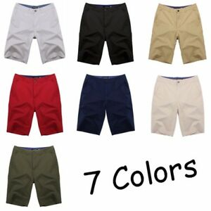 INCERUN-Men-039-s-Cotton-Cargo-Work-Combat-Shorts-Pants-Casual-Chino-Baggy-Trunks