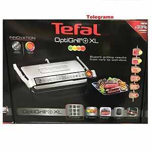tefal optigrill xl automatic griddle grill kitchen contact grill watt 33 689788555942 ebay. Black Bedroom Furniture Sets. Home Design Ideas