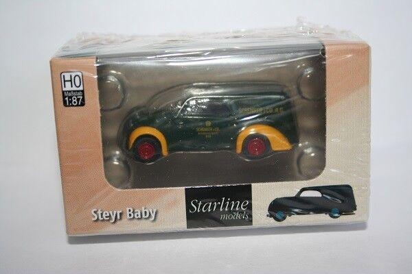 """Neu Brekina 58321-1//87 Steyr Baby /""""Anker Brot/"""" Von Starline"""