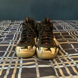 USED MENS NIKE AIR FOAMPOSITE ONE OLYMPIC WHITE ...