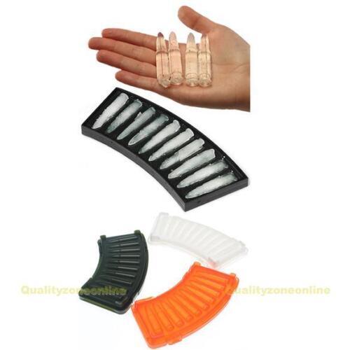 Patronen Magazin 3D Design Eiswürfelform Eiswürfelbereiter 10 Fächer Eiswürfel