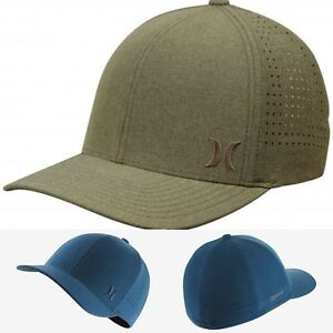 cd4b78c0 Details about Hurley Phantom Ripstop Fitted Hat AH9627