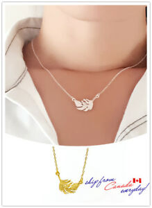 S925-Sterling-Silver-Vivid-Feather-Cable-Chain-Necklace-2-Colors-available