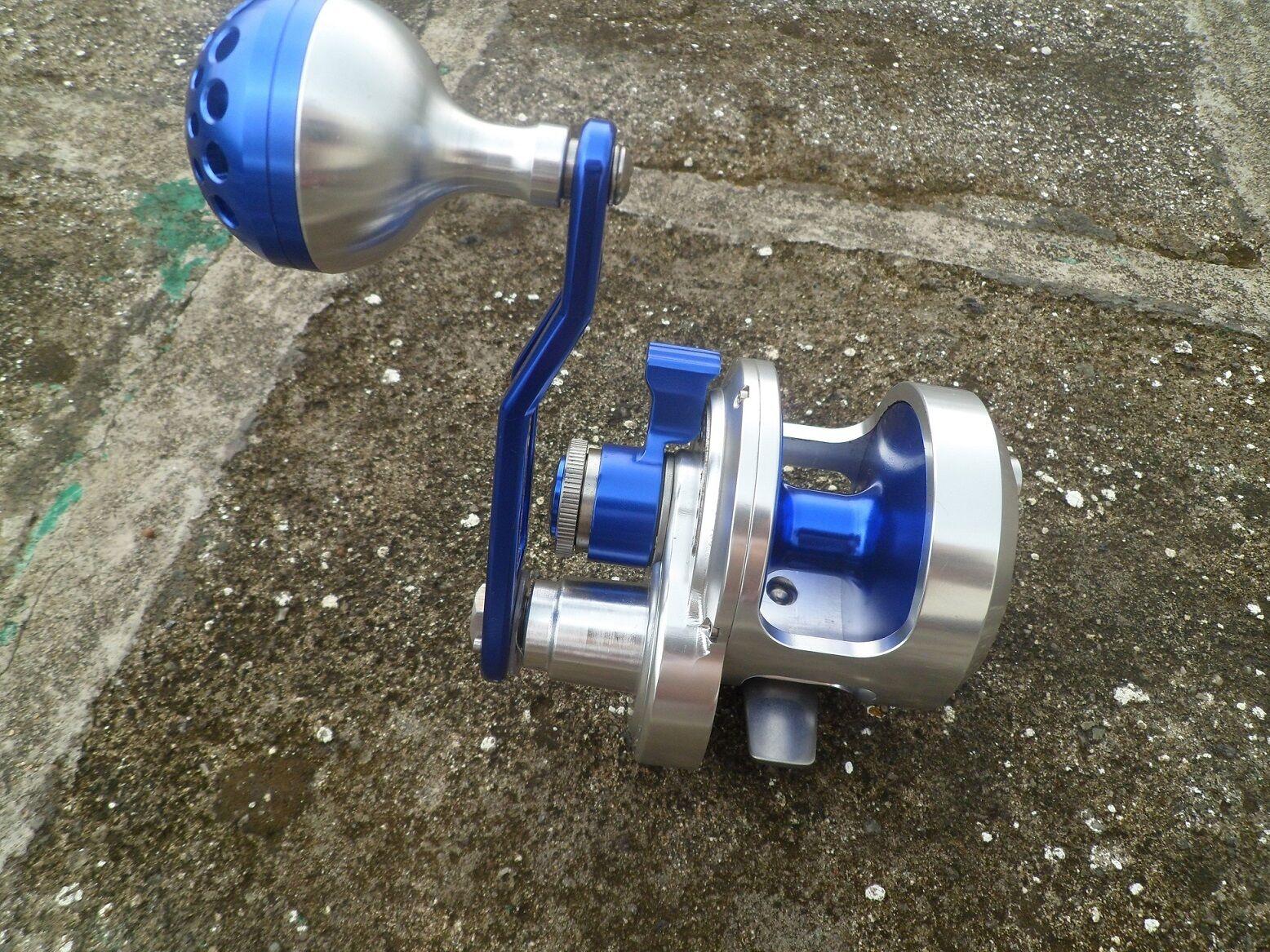 Saltwater  Overhead Jigging Fishing Reel Full Metal Manufacturing 8+2BB PE3  on sale 70% off