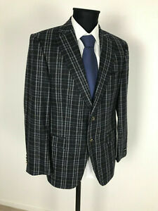 Windsor-MODERN-TWEED-JACKET-JACKET-SIZE-48-Virgin-Wool-Cashmere-New-without-label