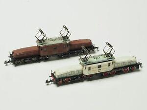 88888-Marklin-Z-scale-SBB-Crocodile-5-pole-Twin-Set-2-Krokodil-Marklin-150-Years