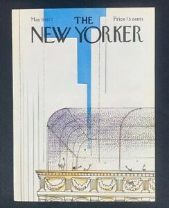 COVER-ONLY-The-New-Yorker-Magazine-May-9-1977-Arthur-Getz