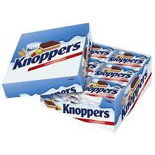 24 Pieces x Storck Knoppers Milk-Hazelnut-Chocolate-Waffle 600g / 1.32lbs