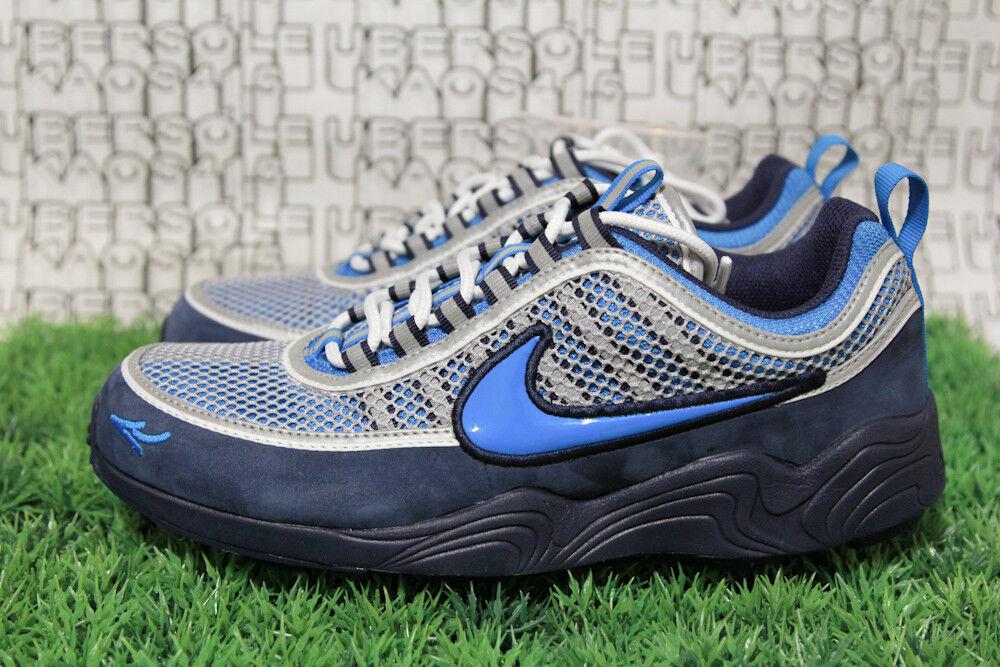 SOLD OUT Nike Spiridon 16 Stash Navy Blue AH7973 400 off white MEN 8,WOMEN 9.5