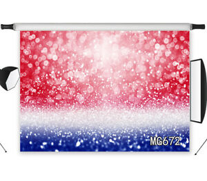 7x5ft red white blue glitter halo vinyl studio backdrop background photography ebay details about 7x5ft red white blue glitter halo vinyl studio backdrop background photography