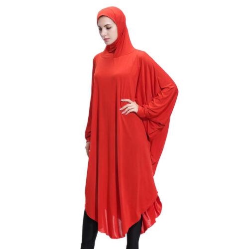 Damen Islamische Kleidung Abaya Dubai Kleid Robe Kleider Robe mit Muslim