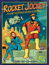 Rocket Jockey - Ciencia Ficción Sci Fi Juego De Cartas - Nuevo