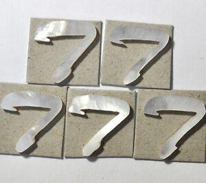 5 Capitaliser T Blanc En Nacre 13.2mmx 13.5 Mm X 1.5 Mm épaisseur-afficher Le Titre D'origine Vous Garder En Forme Tout Le Temps