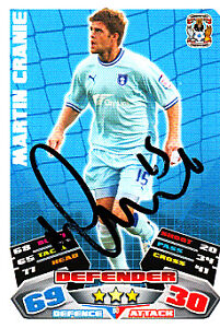 TOPPS MATCH ATTAX CHAMPIONSHIP 2011-12 #081-COVENTRY CITY-CHRIS HUSSEY