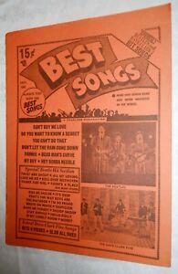 Vintage-Beatles-amp-Dave-Clark-5-Best-Songs-1964-Charlton-Magazine-Publication