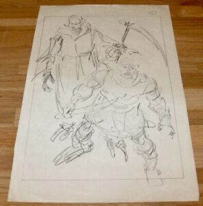 MASTERS-OF-THE-UNIVERSE-1987-SCARCE-ORIG-PRODUCTION-DRAWING-COA